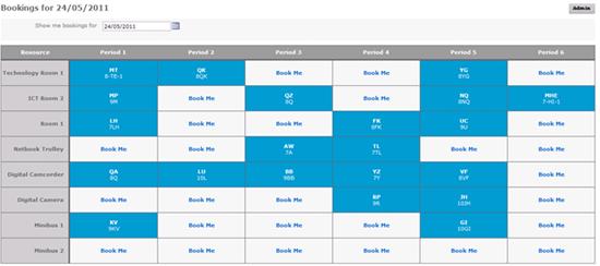 Conference Room Schedule Display Calendar Template 2016