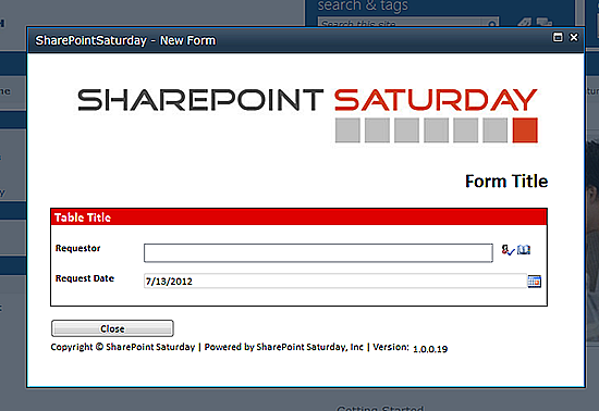 SharePoint – InfoPath 2010: Form Library Modal Popup ...