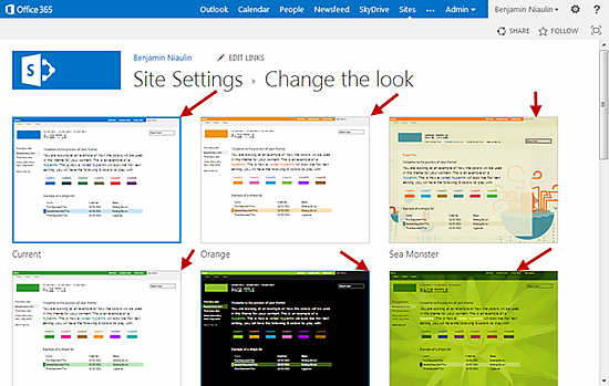 sharepoint 2013 page templates