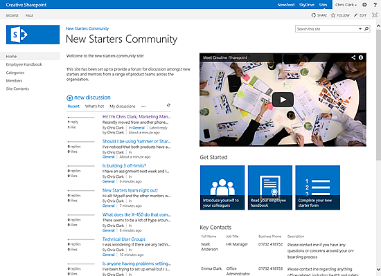 What is a SharePoint 2013 Community Site | NothingButSharePoint.com