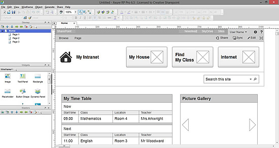 Tools for SharePoint User Experience (UX) Design: Wireframing ...