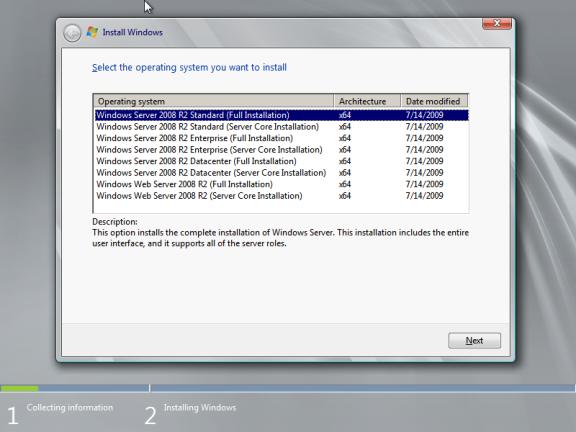 Web server 2008 - фото 11