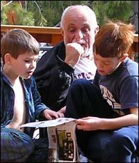 Tony Caviglia and Grandsons