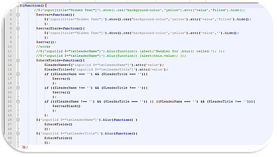 SharePoint Web Parts with jQuery and the Web ToolPart